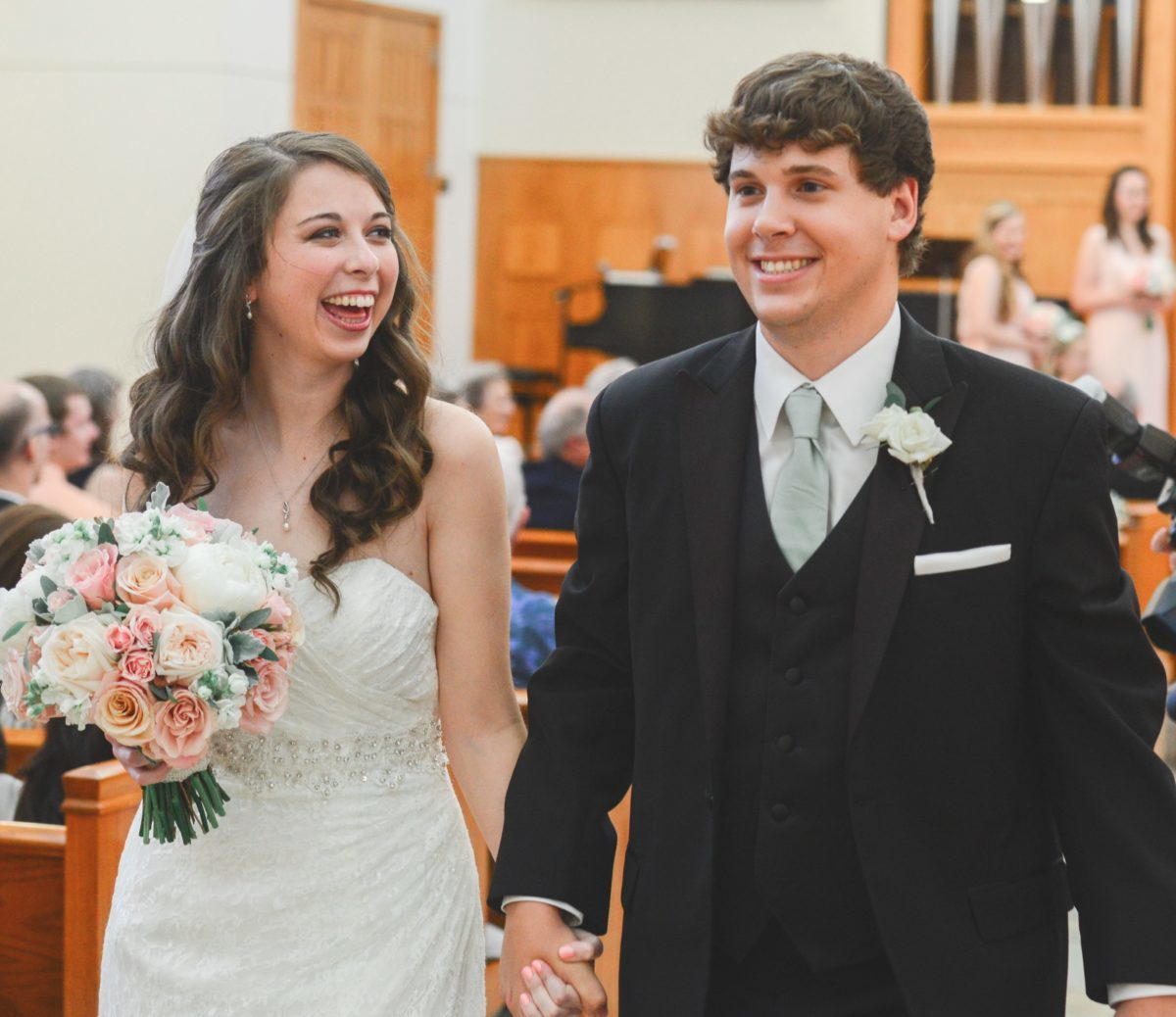 new in the nest, gaining a daughter-in-law, empty nester, son getting married