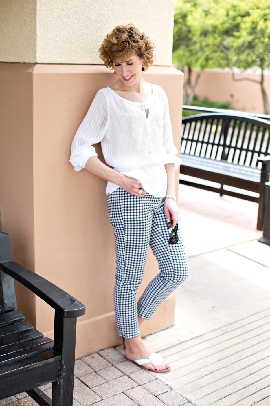 Party in the Picnic Print!   Get on the Gingham Trend