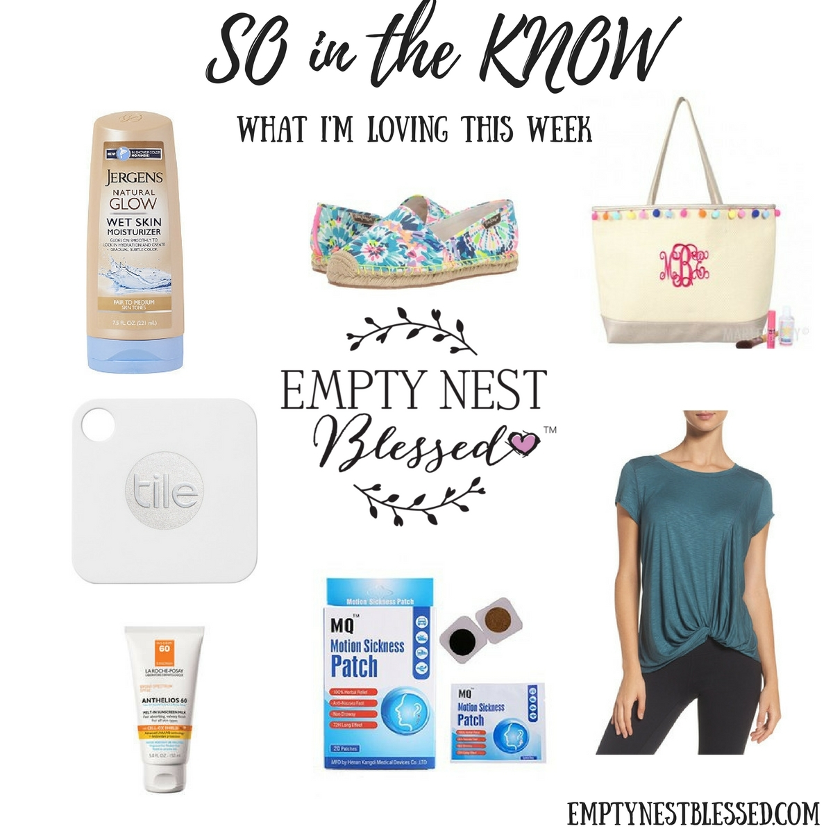 SO in the KNOW   What I'm Learning and Loving This Week (6/30 edition)