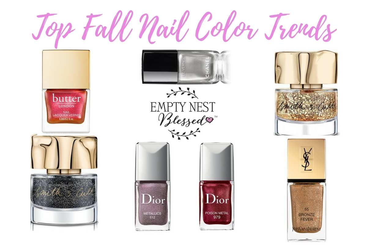 Nailed it! Five Hot Fall Nail Color Trends to Try Right Now