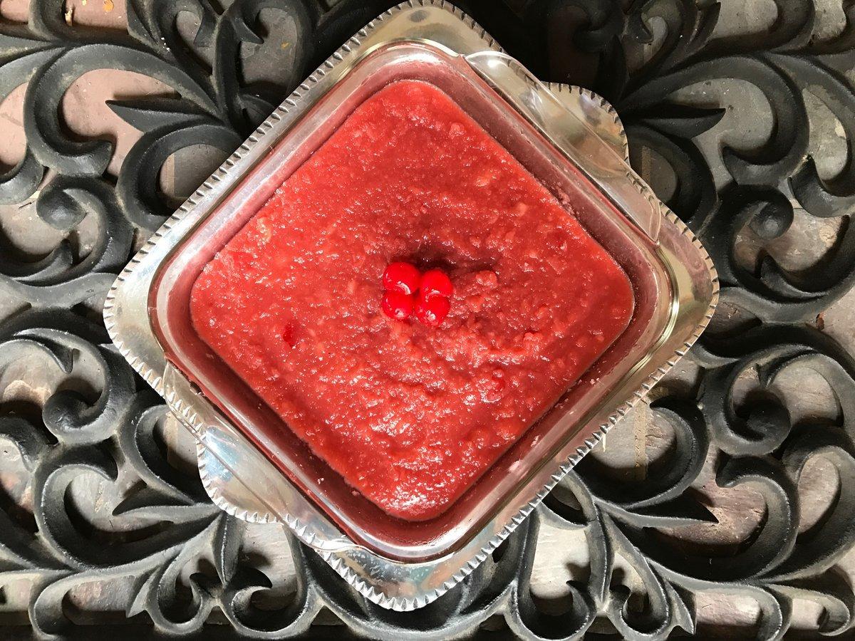 merry cherry jello for christmas