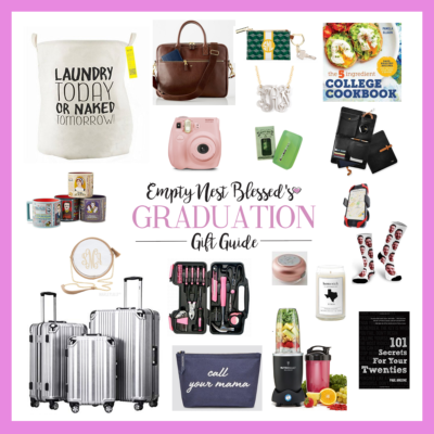 Empty Nest Blessed's Graduation Gift Guide | Let's Celebrate!