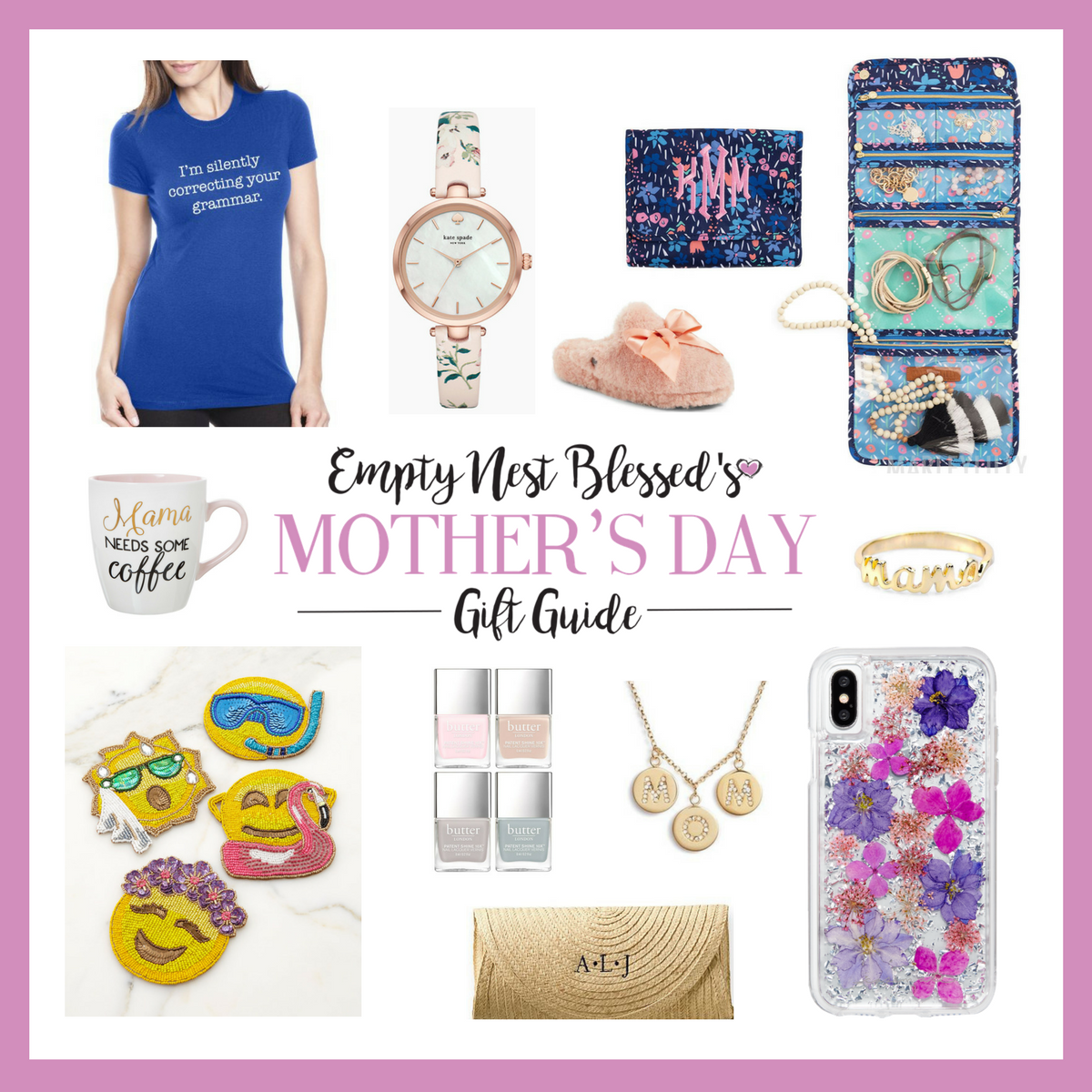 Empty Nest Blessed's Mother's Day Gift Guide