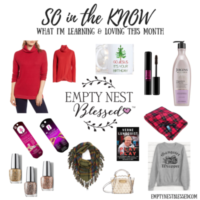 SO in the KNOW | What I'm Learning & Loving in November