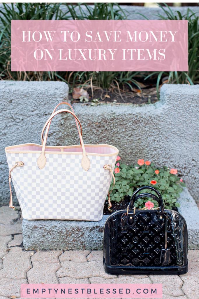 Save money luxury bags budget