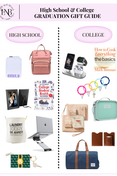 high school and college graduation gift ideas