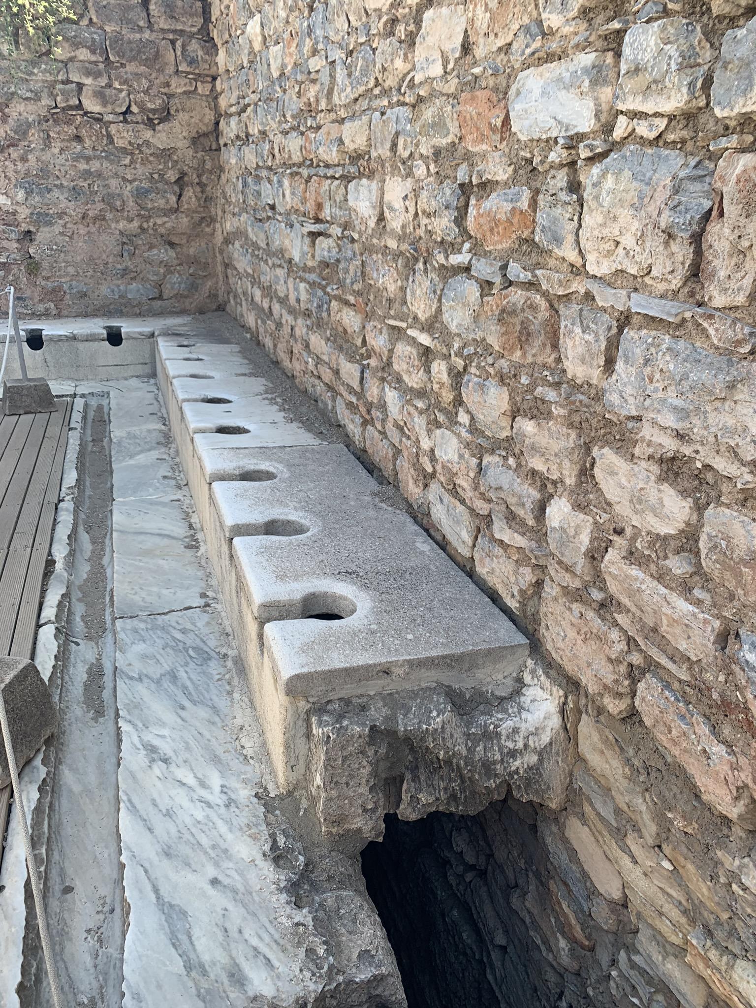 the public baths in ephesus turkey