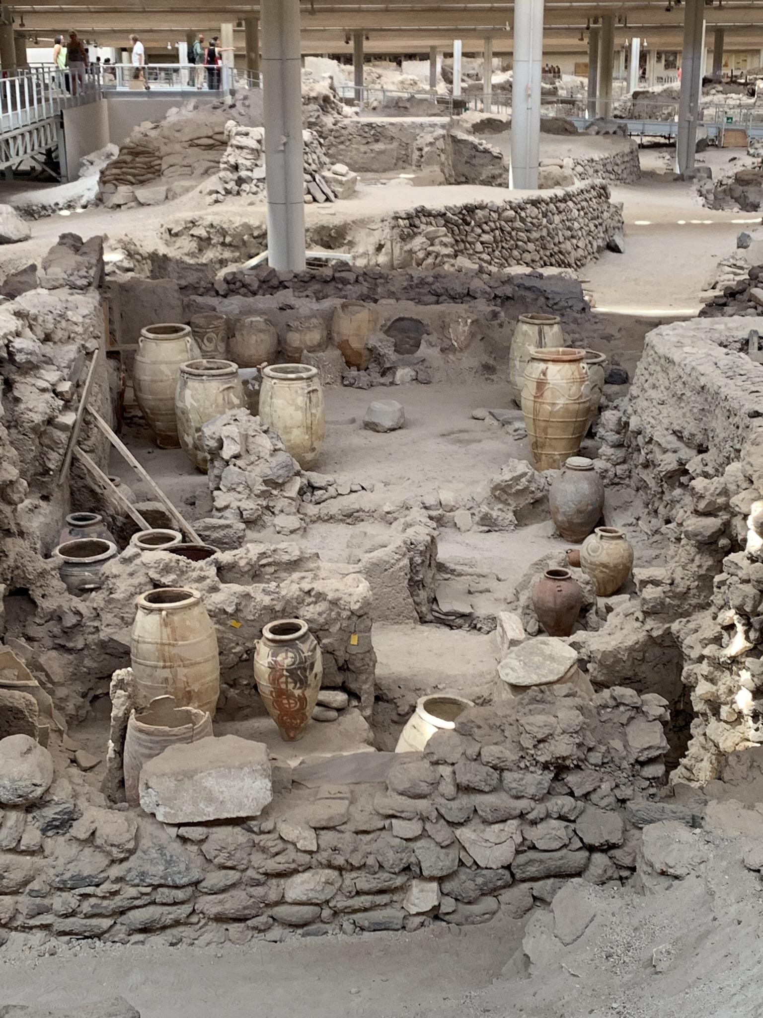 ancient ruins in crete greece