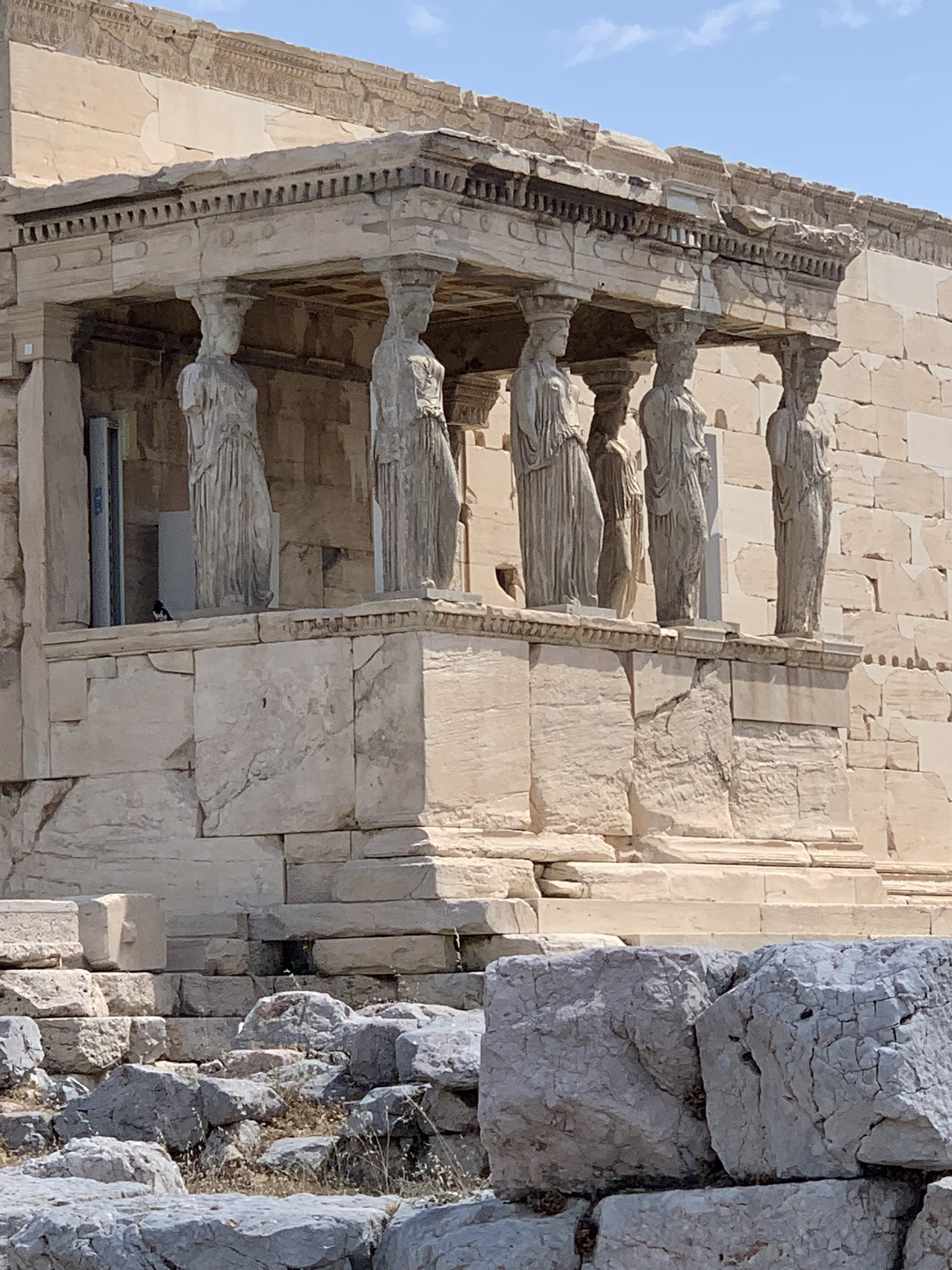 the erechtheion in athens greece