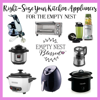 How to Right-Size Your Kitchen Appliances for the Empty Nest