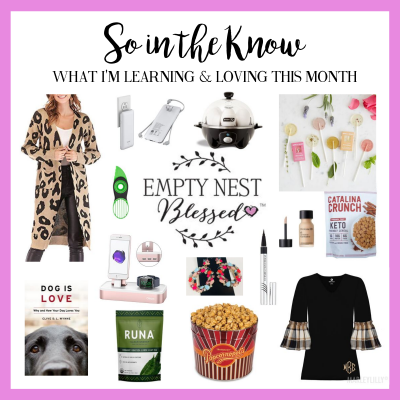 SO in the KNOW | What I'm Learning & Loving in September