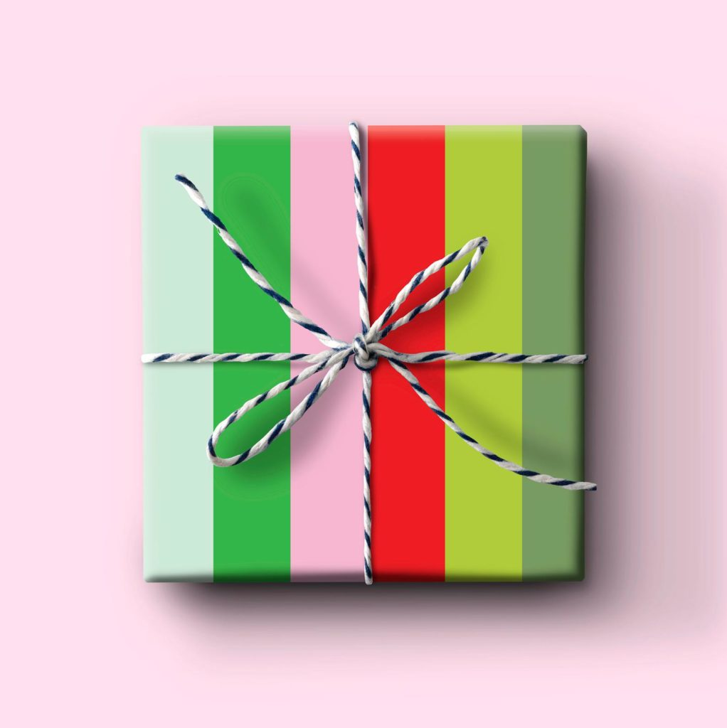 holiday gift wrap from Joy Creative Shop