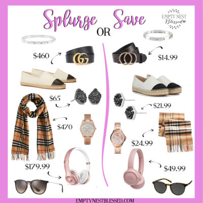 Splurge or Save? | Fun Designer Dupes to Stretch Your Budget