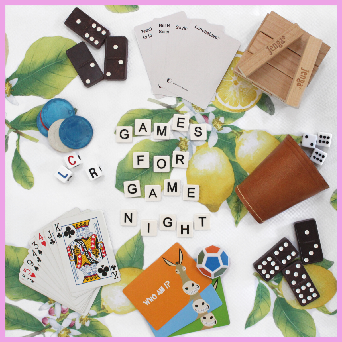 Never Stop Playing! | 5 Favorite Games for Game Night