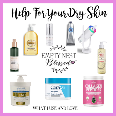 Help For Your Dry Skin | The Products I Use & Love