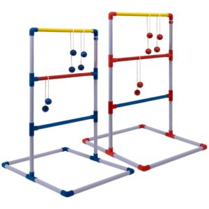two ladder golf displays