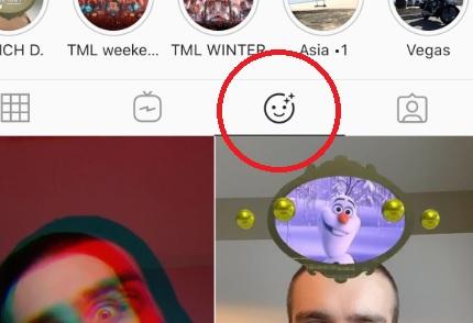 screenshot of filter emoji