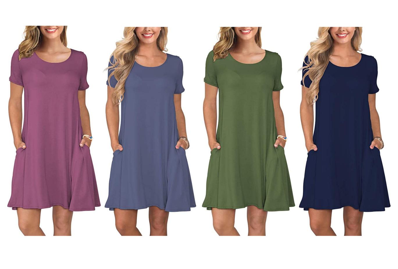 amazon loungewear dresses