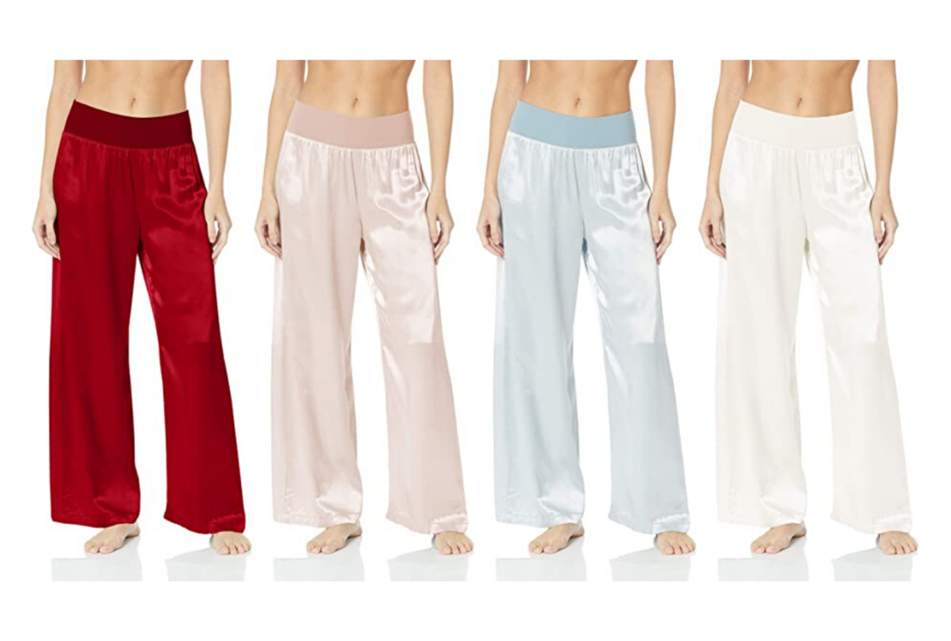 amazon satin pajama pants