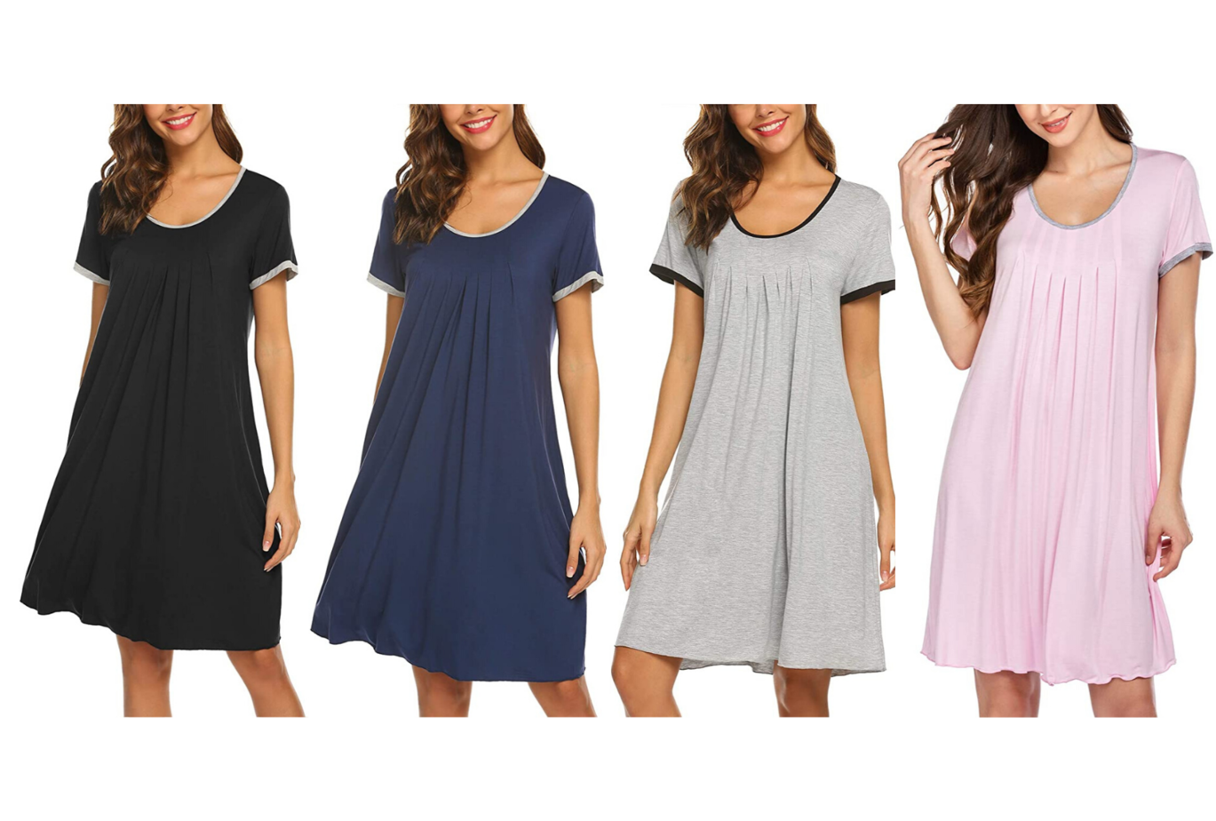 amazon loungewear nightgowns