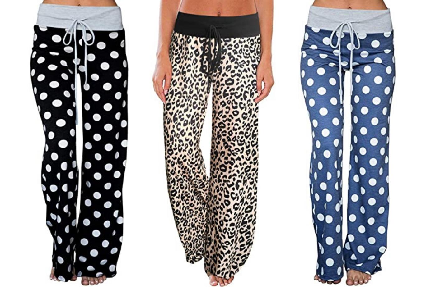 amazon print loungewear pants