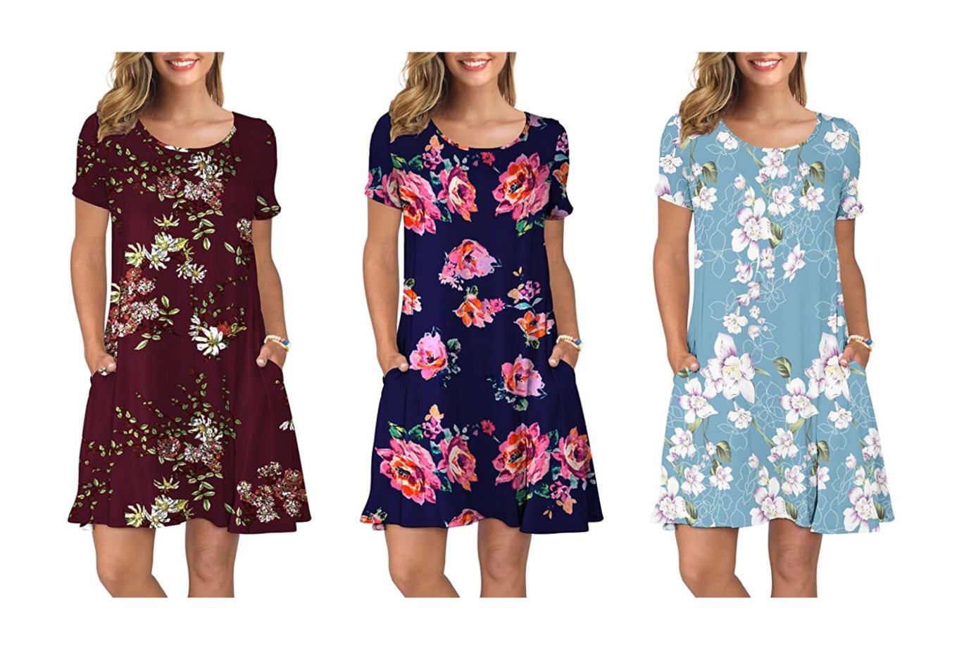 print loungewear dresses