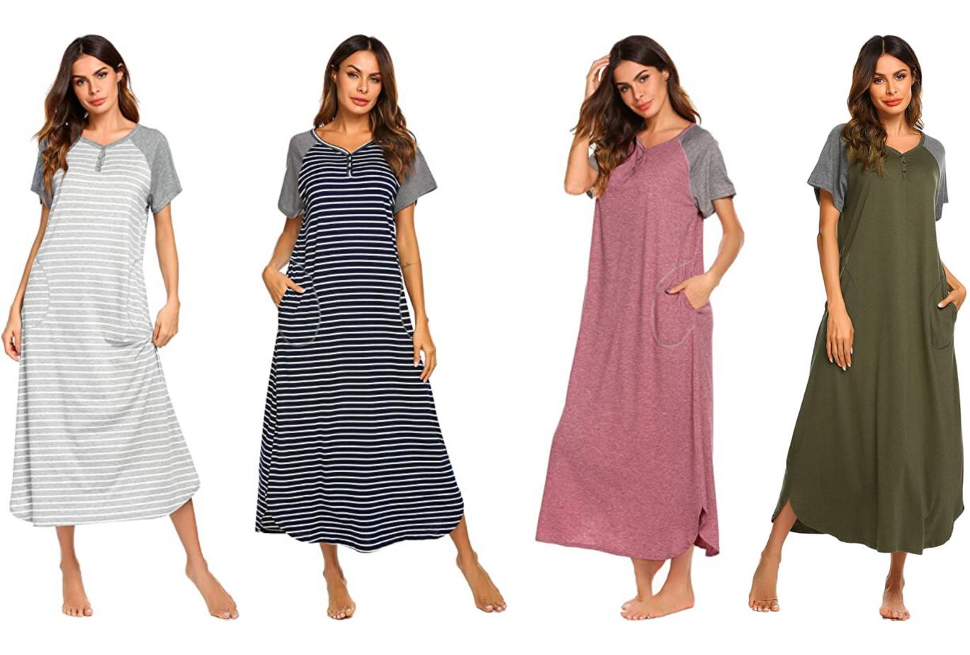 amazon long nightgown