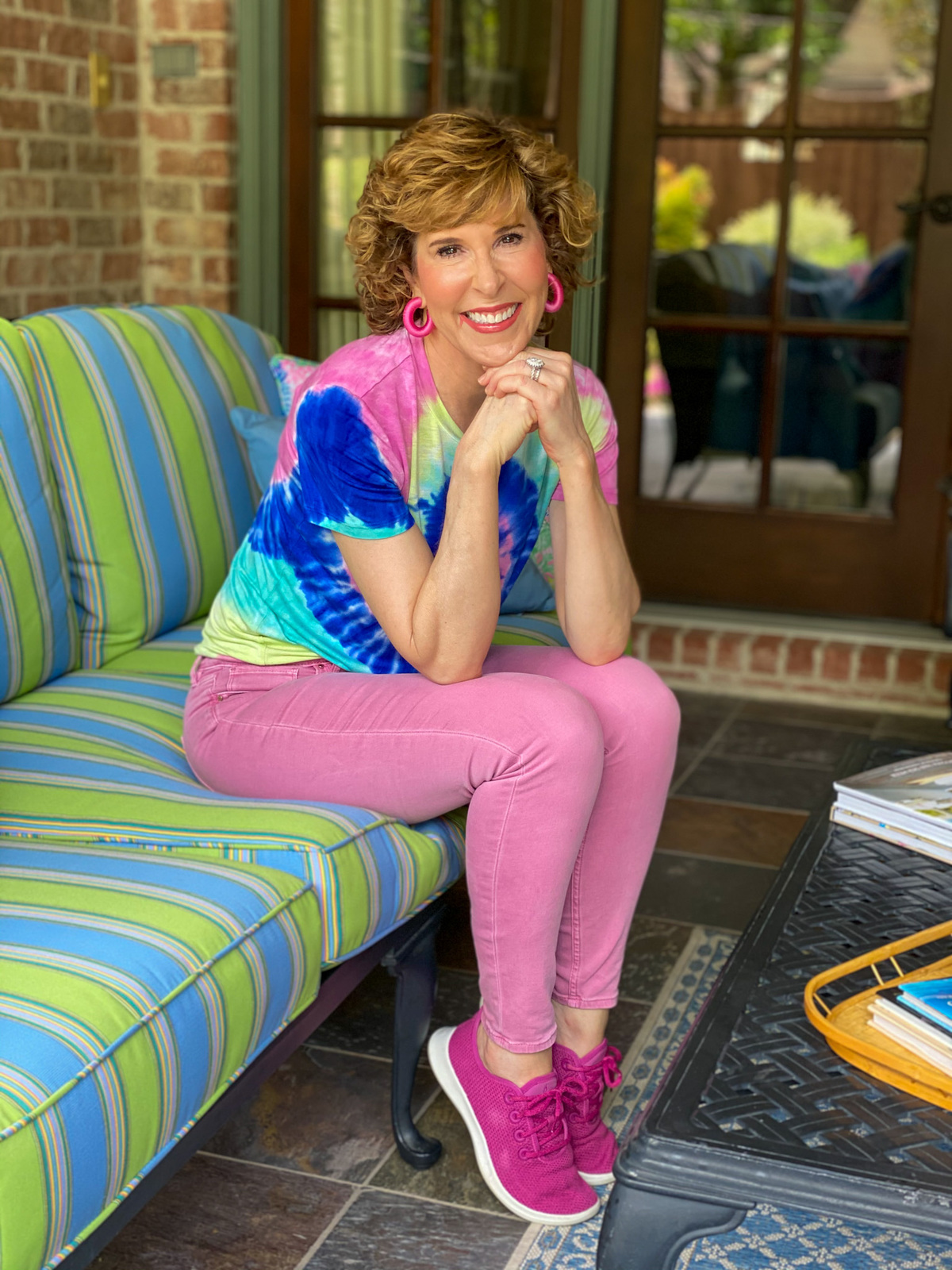 How to Wear the Tie Dye Trend When You're Over 50