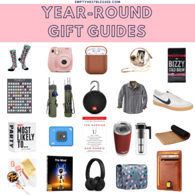 college of products for year-round gift guides