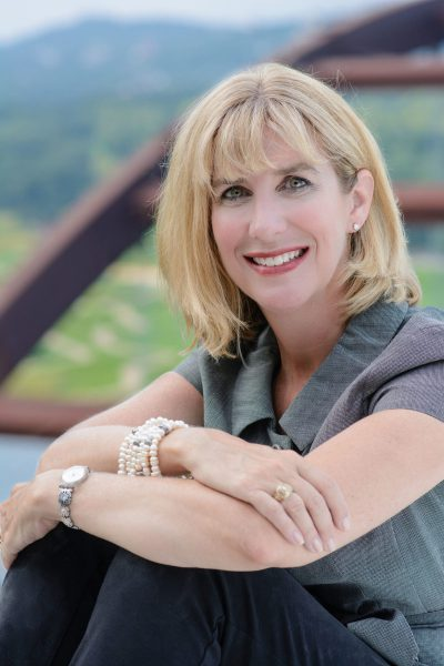 photo of dr jill grimes, md sitting outdoors