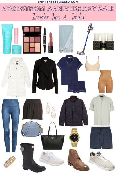 Nordstrom Anniversary Sale collage of favorites