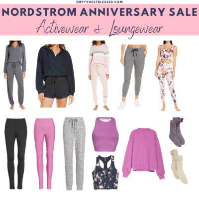 collage of Best activewear & loungewear Nordstrom Anniversary Sale