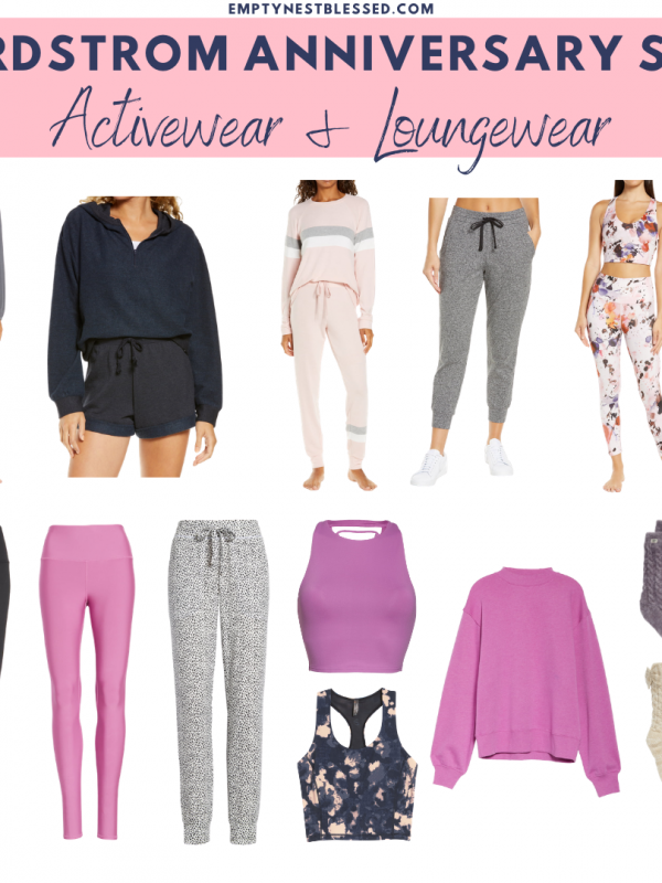 collage of Best activewear & loungewear Nordstrom Anniversary Sale