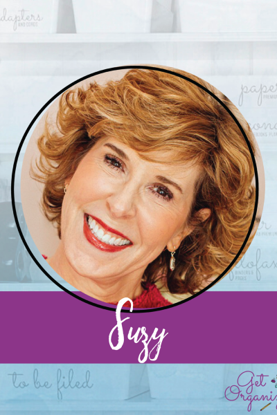 woman's headshot named suzy in graphic