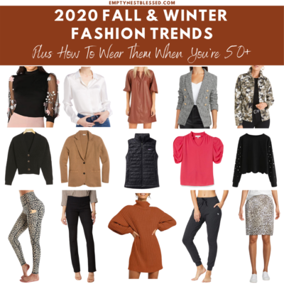 2020 Fall & Winter Fashion Trends & How to Wear Them When You're 50+