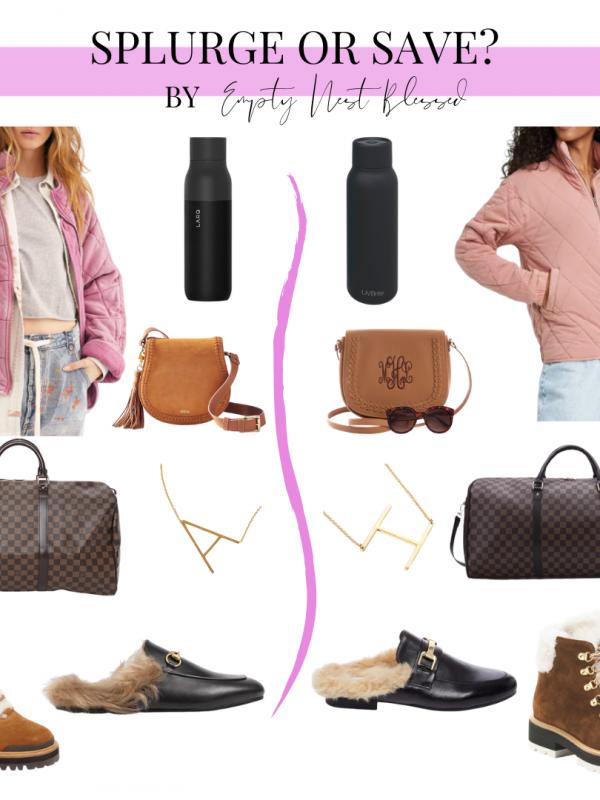 collage of designer lookalikes