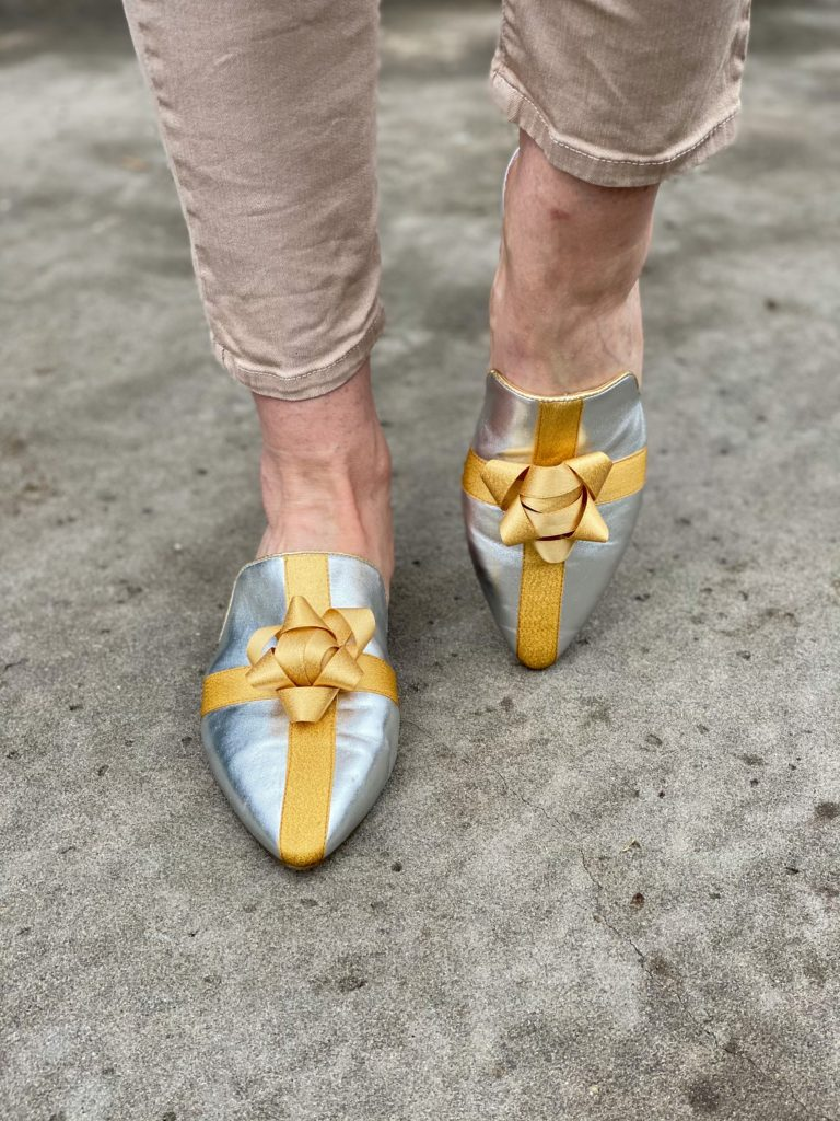 katy perry bow mules
