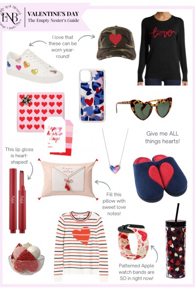 collage of valentines day gift ideas