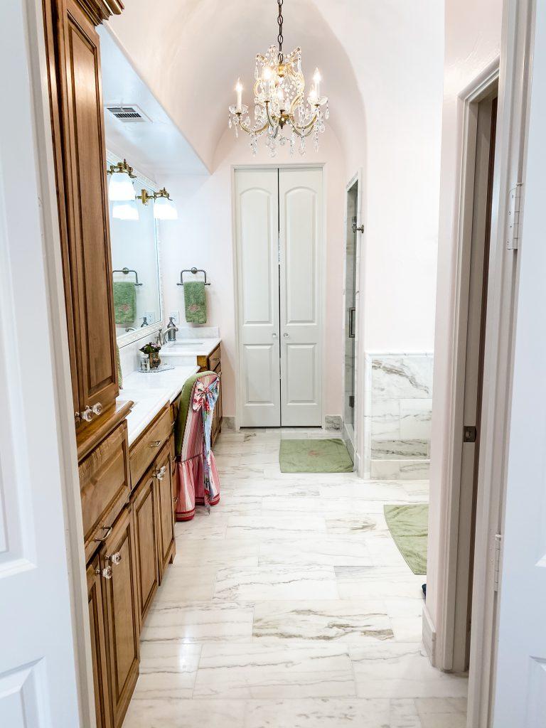 master bathroom remodel - updated tile