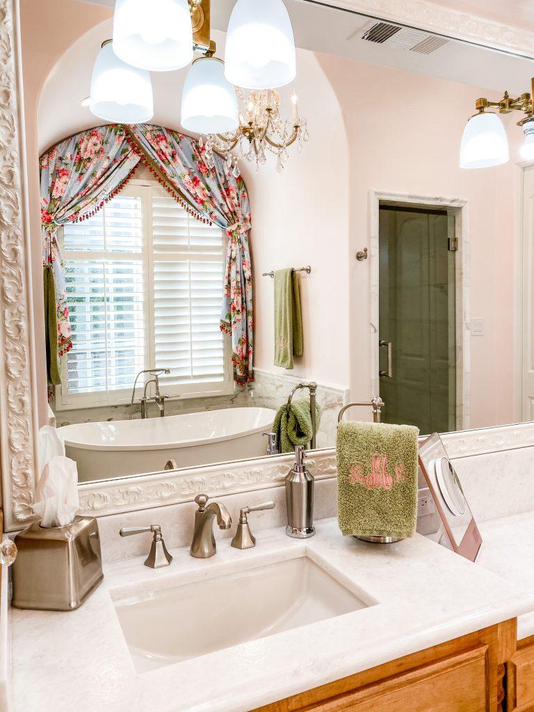 master bathroom remodel - updated sink