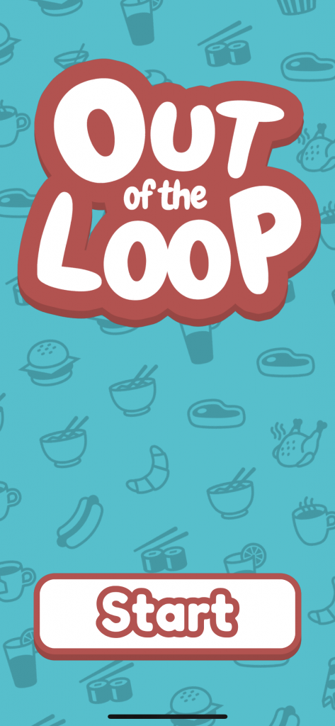 screenshot of out of the loop game app