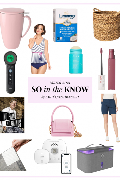 collage mug swimsuit purse shorts mascara book basket makeup