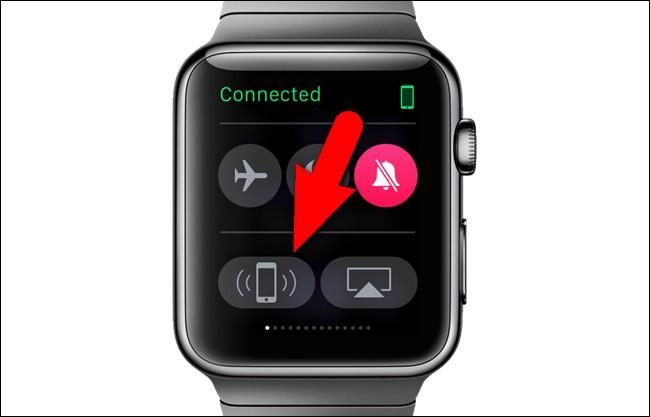 apple watch pinging iPhone