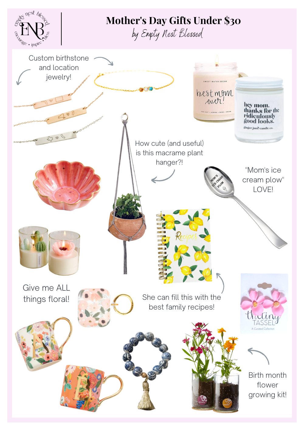 The Best Mother's Day Gifts Under $30   We Love Mamas!