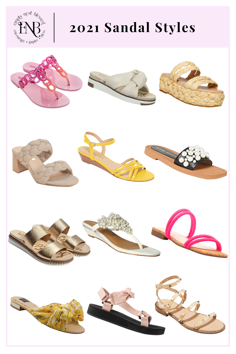 2021 Sandal Styles | Six Looks to Shop For Summer