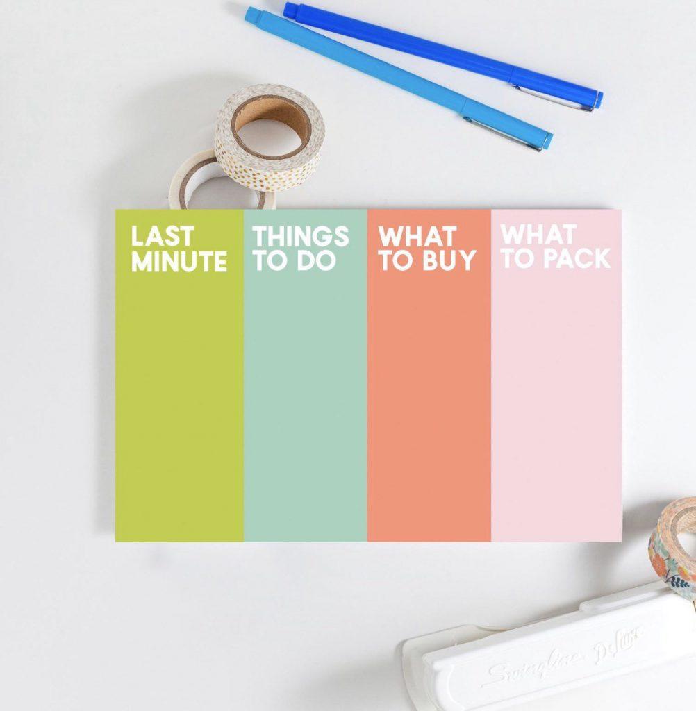 joy creative shop travel notepad