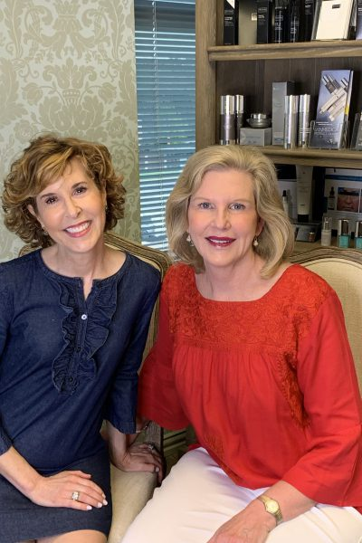 empty nest blessed and dr. lori stetler sitting together answering botox questions