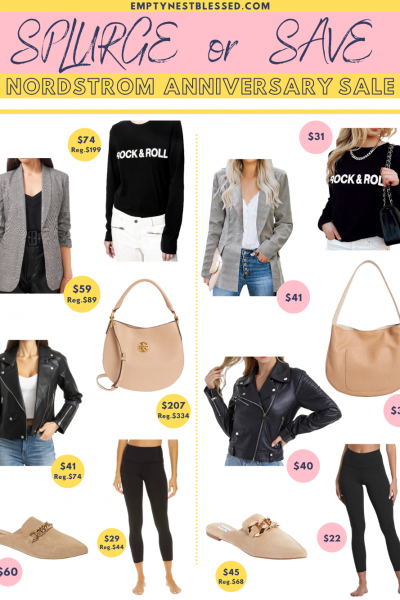 collage of items that are better prices than the nordstrom anniversary sale