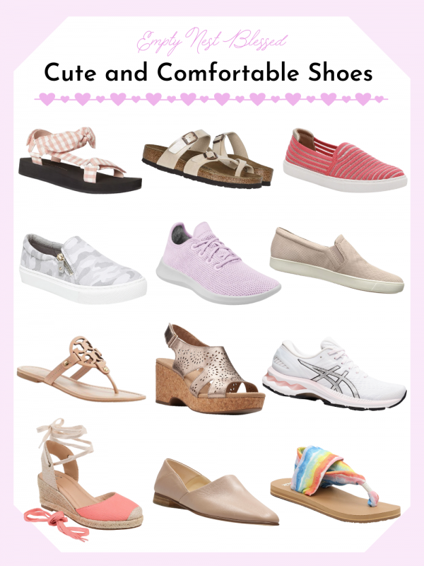 website size cute and comfy shoes