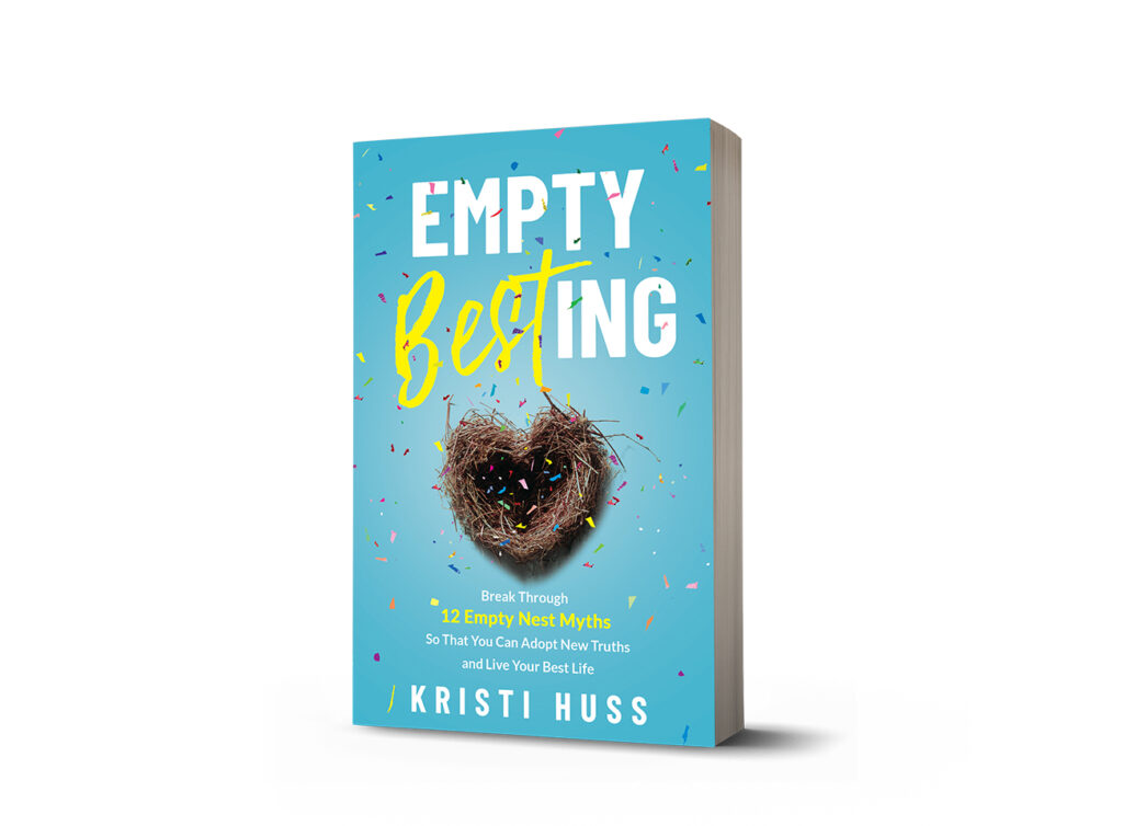 front cover of empty besting book by kristi huss